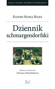 okładka Dziennik schmargendorfski, Książka   Rainer Maria Rilke