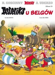 okładka Asteriks u Belgów Tom 24, Książka | René Goscinny, Albert Uderzo
