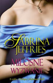 okładka Miłosne wyzwanie, Książka | Jeffries Sabrina