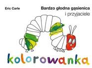 okładka Bardzo głodna gąsienica i przyjaciele. Kolorowanka + fartuszek, Książka | Carle Eric