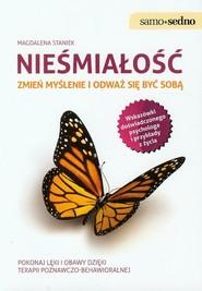 okładka Nieśmiałość Zmień myślenie i odważ się być sobą, Książka | Staniek Magdalena