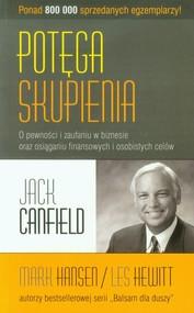 okładka Potęga skupienia, Książka | Jack Canfield