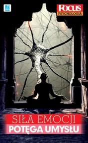 okładka Siła emocji, potęga umysłu, Książka  