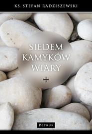 okładka Siedem kamyków wiary. Książka | papier | Radziszewski Stefan