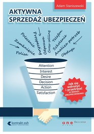 okładka Aktywna sprzedaż ubezpieczeń Jak wdrożyć się i przetrwać w branży ubezpieczeniowej, Książka   Staniszewski Adam