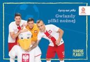 okładka PZPN Gwiazdy piłki nożnej Piłkarskie plakaty do kolorowania. Książka | papier |