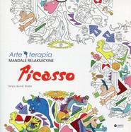 okładka Mandale relaksacyjne Picasso, Książka |