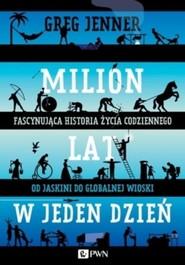 okładka Milion lat w jeden dzień. Książka | papier | Jenner Greg