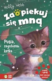 okładka Pusia zagubiona kotka, Książka | Webb Holly