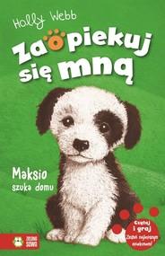 okładka Maksio szuka domu, Książka | Webb Holly