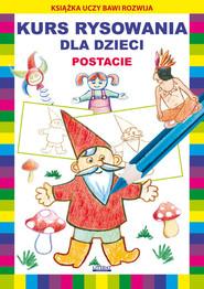 okładka Kurs rysowania dla dzieci Postacie, Książka | Mateusz  Jagielski, Krystian  Pruchnicki