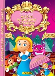 okładka Alicja w krainie czarów z płytą CD Poczytajcie, posłuchajcie, Książka | Carroll Lewis