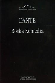 okładka Boska Komedia, Książka | Alighieri Dante