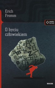 okładka O byciu człowiekiem, Książka | Fromm Erich