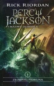 okładka Percy Jackson i bogowie olimpijscy Tom 1 Złodziej Pioruna, Książka | Riordan Rick