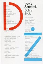 okładka Dobre życie, Książka | Santorski Jacek