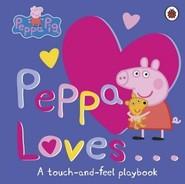 okładka Peppa Loves A Touch and Feel Playbook, Książka  