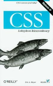 okładka CSS Leksykon kieszonkowy, Książka   Eric A. Meyer