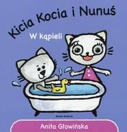 okładka Kicia Kocia i Nunuś W kąpieli, Książka   Głowińska Anita