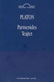 okładka Parmenides Teajtet. Książka | papier | Platon