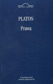okładka Prawa Platon. Książka | papier | Platon