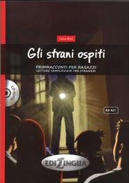 okładka Gli strani ospiti + CD, Książka   Brisi Luisa