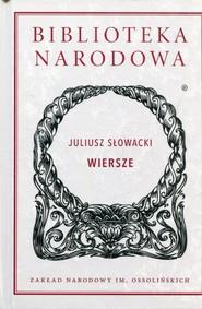 okładka Wiersze, Książka | Słowacki Juliusz