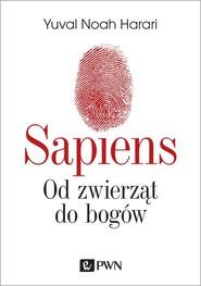 okładka Sapiens Od zwierząt do bogów. Książka | papier | Yuval Noah  Harari