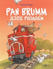 okładka Pan Brumm jedzie pociągiem, Książka | Napp Daniel