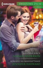 okładka Melodia serca Romans. Książka | papier | Natalie Anderson, Jennifer Hayward