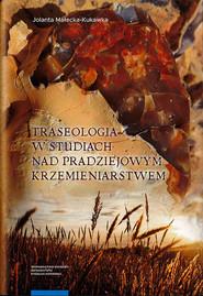 okładka Traseologia w studiach nad pradziejowym krzemieniarstwem, Książka   Małecka-Kukawka Jolanta