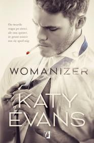 okładka Womanizer, Książka | Evans Katy
