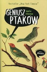 okładka Geniusz ptaków. Książka | papier | Ackerman Jennifer