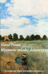 okładka Wyznanie młodej dziewczyny, Książka | Proust Marcel