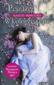 okładka Pejzaż w kolorze sepii. Książka | papier | Ishiguro Kazuo