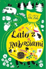 okładka Lato z rabusiami, Książka | Kolu Siri
