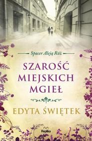 okładka Szarość miejskich mgieł Spacer Aleją Róż tom 4, Książka | Świętek Edyta