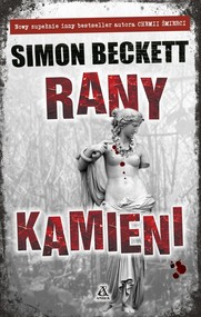 okładka Rany Kamieni, Książka   Beckett Simon