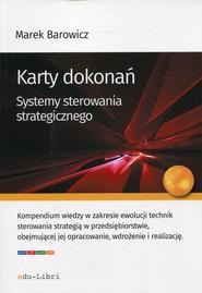 okładka Karty dokonań Systemy sterowania strategicznego. Książka | papier | Barowicz Marek