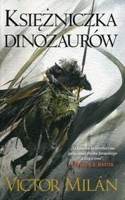 okładka Władcy dinozaurów Tom 3 Księżniczka dinozaurów, Książka   Milan Victor
