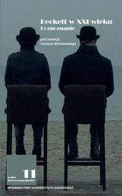 okładka Beckett w XXI wieku Rozpoznanie, Książka |