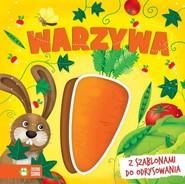 okładka Książki z szablonami Warzywa, Książka | Praca Zbiorowa