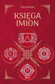 okładka Księga imion, Książka | Ressel Ewa