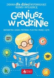 okładka Geniusz w rodzinie, Książka | Baturo Iwona
