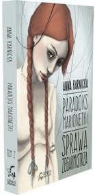 okładka Paradoks Marionetki Sprawa Zegarmistrza. Książka   papier   Karnicka Anna