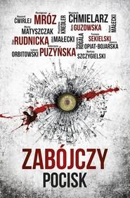okładka Zabójczy pocisk, Książka | Mróz Remigiusz, Puzyńska Katarzyna, Chmielarz Wojciech, Guzowska Marta