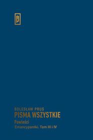 okładka Emancypantki Tom 3-4, Książka   Prus Bolesław