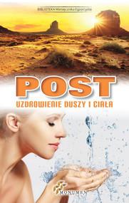 okładka Post Uzdrowienie duszy i ciała. Książka | papier |