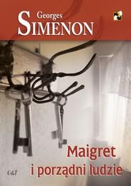 okładka Maigret i porządni ludzie, Książka | Georges Simenon