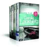 okładka Księżniczka z lodu / Kaznodzieja / Kamieniarz / Ofiara losu Pakiet Camilla Lackberg Tom 1-4, Książka | Lackberg Camilla